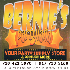 Bernies Partyland for Party Favor & Party Items in Brooklyn NY